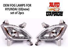 Premium Quality OEM Fog Lamps for Hyundai i10 New - Set of 2pcs