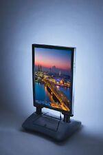 Kundenstopper WINDPRO LED DIN A1 Plakatständer Werbeaufsteller