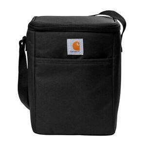 Carhartt Vertical 12 Can Cooler Lunch Pack - Black