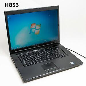 """DELL VOSTRO 1510 15.4"""" LAPTOP CORE 2 DUO T7250 4GB 320GB WIN 7 PRO H833"""