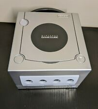 Nintendo GameCube Launch Edition Silver Console DL-101 W/ Cables + Controller