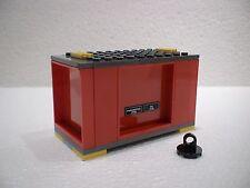 LEGO® Eisenbahn Container rot für 3677, 7898, 7938, 7939 - City - NEU 1