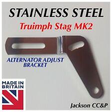 Triumph Stag Mk2 Alternator Adjusting Bracket 160203 Polished Stainless Steel