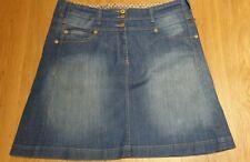 BNNT NEXT Denim Knee Length Vintage Style High Waist Skirt 20