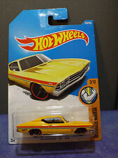 2017 HOT WHEELS '67 Chevelle SS 396. HW MUSCLE MANIA series 3/10. Long card.