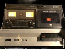 Vintage Superscope Stereo Cassette Deck CD-304 , Permalloy Head, Not tested