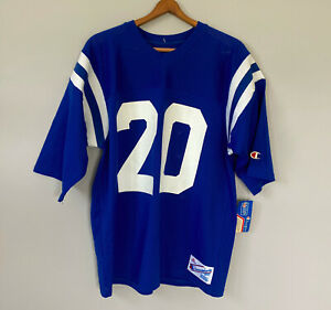 NEW Vintage Deadstock Champion NFL Indianapolis Colts Football Jersey XL 80s 90s