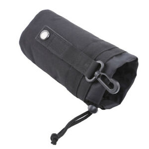 Water Bottle Holder Belt Carrier Pouch Tactical Hiking Camping Molle Nylon Bag C
