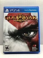 God of War III Remastered - Sony PlayStation 4 - Complete Tested Working - Free