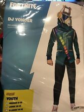 Fortnite DJ YONDER Costume Large L 12-14 Youth Child