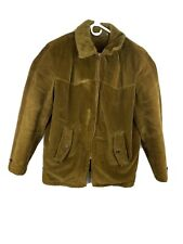 Vintange Brown Corduroy Sir Jac Jacket Mens Size 40