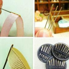 Self Threader Threading Sewing Needles Hand Sewing SET Embroider U9F8 W1Z3 H8W3