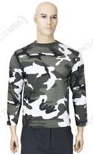 Camicie casual e maglie da uomo grigie con girocollo