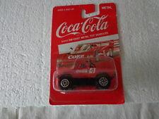 HARTOY COKE COCA COLA DIE-CAST 1/64  CHEVY OFF ROAD 4X4 TRUCK TEAM TURBO #4