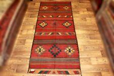 Handgewebter Kelim 130x318 cm Orientteppich Nomadenteppich MAKU Nomadenkelim NEU