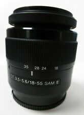 Sony DT 18-55mm f/3.5-5.6 SAM II Lens For Sony A-Mount Cameras Mark 2 II
