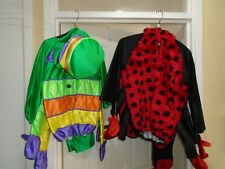 catapillar costume & ladybird costume 6- 7  ages