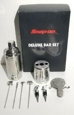 Rare Snap-On Tools Limited Edition 9 Piece Stainless Steel Deluxe Bar Tool Set