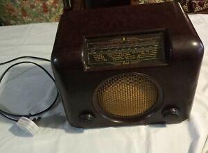 bush dac 90a bakelite vintage valve radio