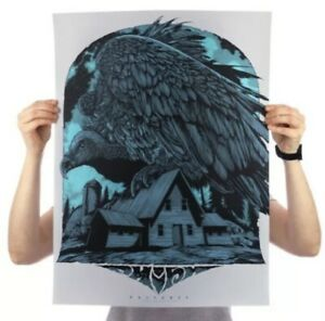 Phish Vulture Poster Ken Taylor Song Series Blue Sold Out