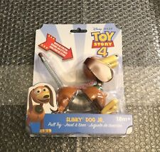 New Disney Pixar Toy Story 4 Slinky Dog JR. Pull Toy Stretch Kids Free Shipping