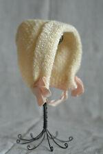 Antique Bonnet Baby Doll Infant, Composition Plastic