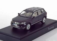 VW TOUAREG 2015 BLACK HERPA 7P1.099.300A.C9X 1/43 VOLKWAGEN NOIR SCHWARZ NOIRE