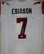Bengals BOOMER ESIASON Signed Custom White Jersey AUTO - MVP - JSA