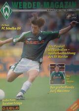 Programm 1997/98 SV Werder Bremen - FC Schalke 04
