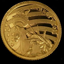2011 Cook Islands $5 Liberty 1/10th Ounce .24 Pure Gold Collector Coin 6CIL1130