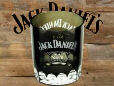 Jack Daniels Black Double Old Fashioned Glass - Cartouche - Old No. 7 - DOF