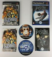 TimeSplitters 1 & Future Perfect ~ PS2 PlayStation 2(PAL)~ VGC & Complete