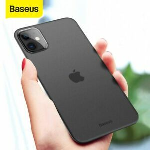 Baseus 0.4mm Super Thin Phone Case For iPhone 11 Case Coque 11 Pro Back Cover