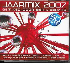BEN LIEBRAND - Jaarmix 2007 (2 CD BOX) 50TR House Trance HOLLAND
