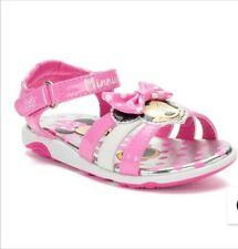 New Minnie Mouse Toddler Light Up Sandals Size 6