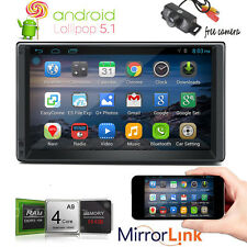 "7"" Android 5.1 Radio Car Stereo HeadUnit No-DVD Tablet Radio BT APP GPS NAV WIFI"