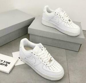 New AIR FORCE 1'07 Sneaker Women Men Sports Shoes Sneakers Low Size UK