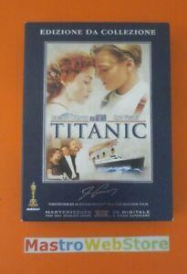 TITANIC - 1997 - Di Caprio - EDIZIONE DA COLLEZIONE - COFANETTO BOX 4 DVD [dv03]