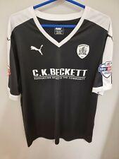 Barnsley Football T-shirt Black Size XL
