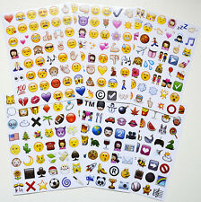 Funny Emoji Bag Sticker Pack 48 Die Cut Stickers For Twitter iPhone New Arrival