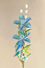Czech/Bohemia Vase Blue Glass