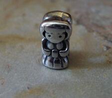 Edelstahl Bead Element Mädchen Girl Kind Fb Antiksilber Silber für Armband 1440