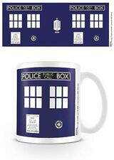 DOCTOR WHO TARDIS POLICE BOX MUG NEW 100 % OFFICIAL MERCHANDISE