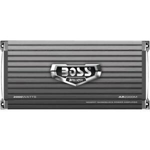 2000W Amplificador Para Carro Auto Amplifier BOSS + Control Remoto De Subwoofer