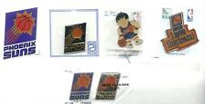 NBA Phoenix Suns 5 Pin/1 Magnet Lot from the 90's SCARCE OOP