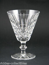 A Waterford Cut Crystal White Wine Glasses/Goblets - Tramore
