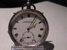 Antique Silver H. Samuel Manchester Pocket Watch Acme Lever ca. 1920 (HB065)