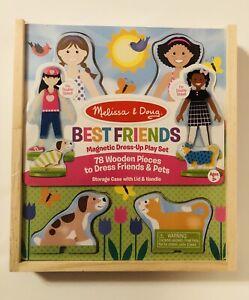 Melissa & Doug Best Friends Magnetic Dress Up Play Set 78 Pcs New Unopened