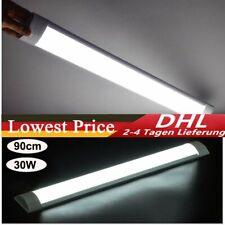 90cm LED Röhren Feuchtraumleuchte Werkstatt Garage Lampe Deckenleuchte Weiß DHL
