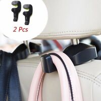 2pcs Universal Vehicle Car Back Seat Headrest Hook Hanger Holder for Bag Purse F